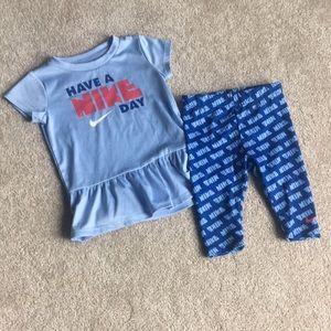 Nike Blue Baby Set 12-18